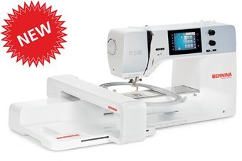 Bernina 535E, with embroidery module, NEW model