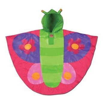 Rain poncho, butterfly