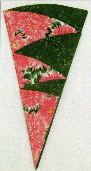 Floral bouquet napkin pattern
