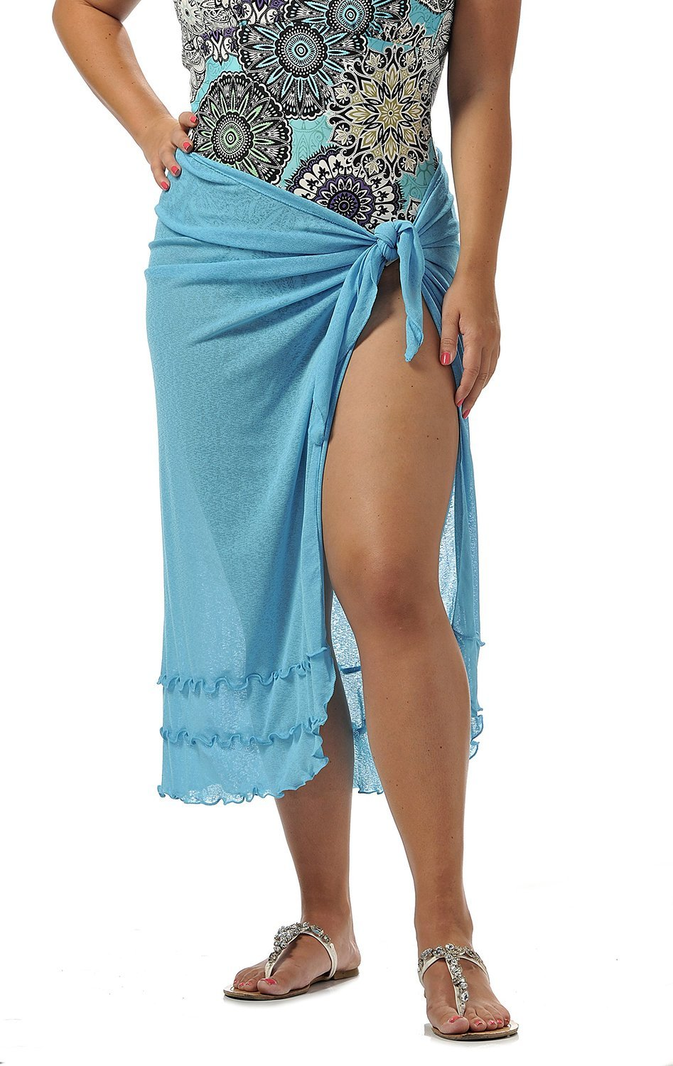 Rapz long knit sarong, one size, 3 colours