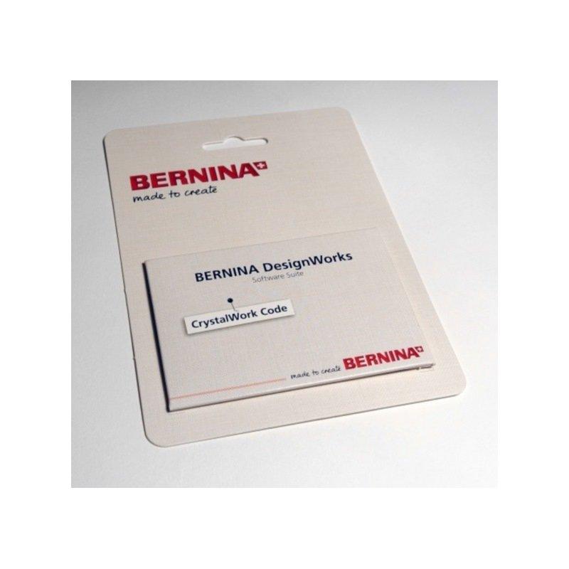 Bernina crystalwork code card