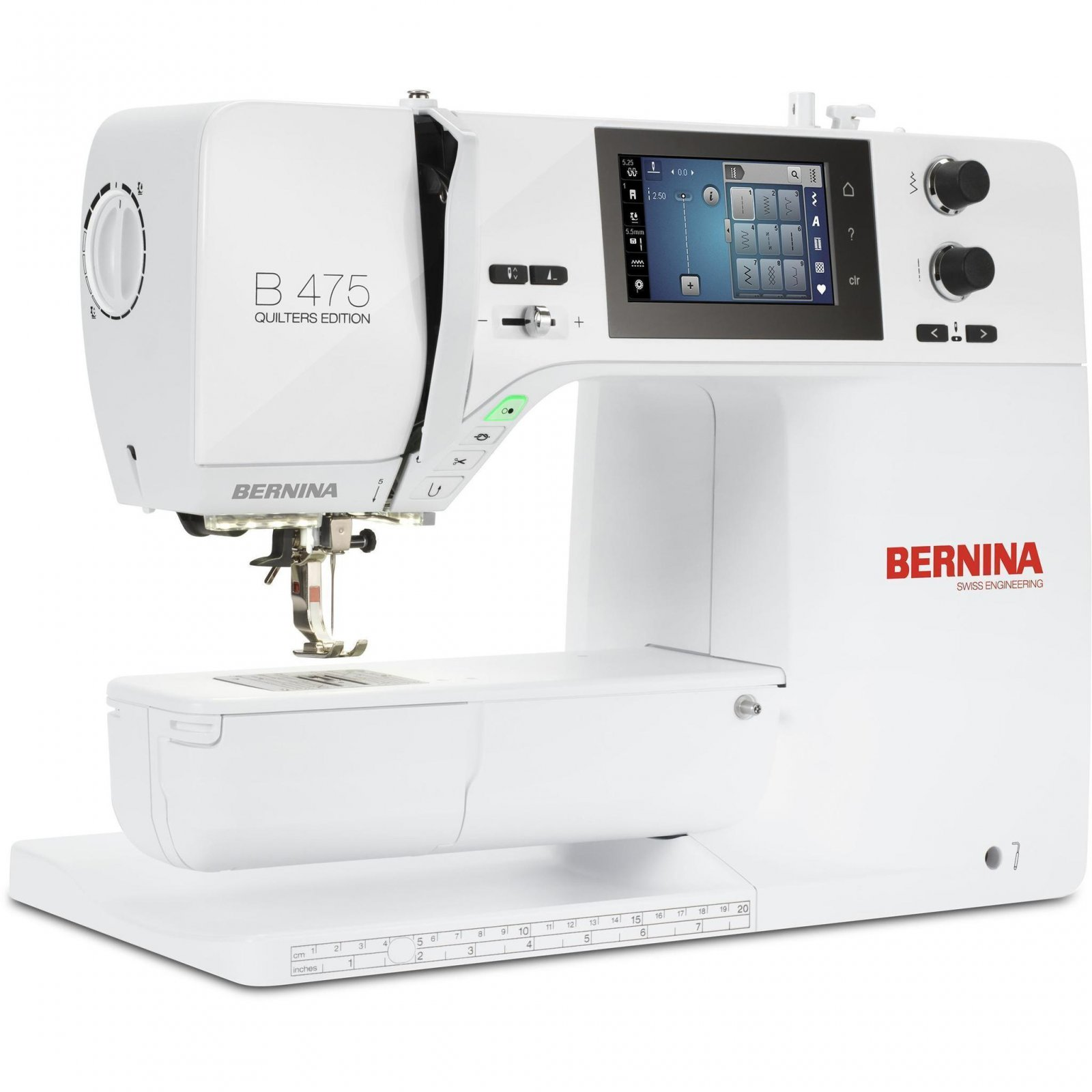 Bernina 475 Quilter's Edition