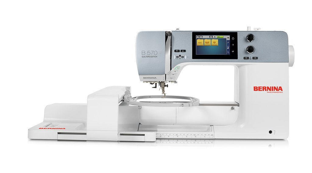 Bernina 570QEE, with embroidery module