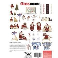 Artic holiday embroidery CD
