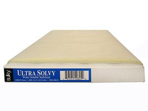 Sulky Ultra Solvy Water Soluble Stablizer Heavy Weight