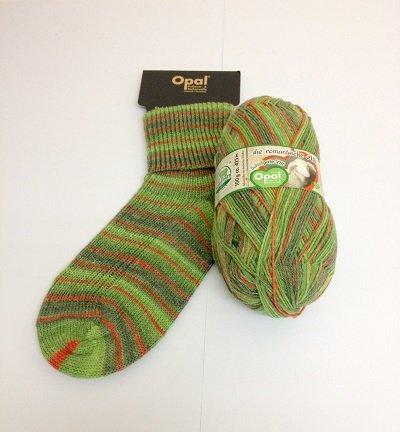 Opal sock yarn, Rest time