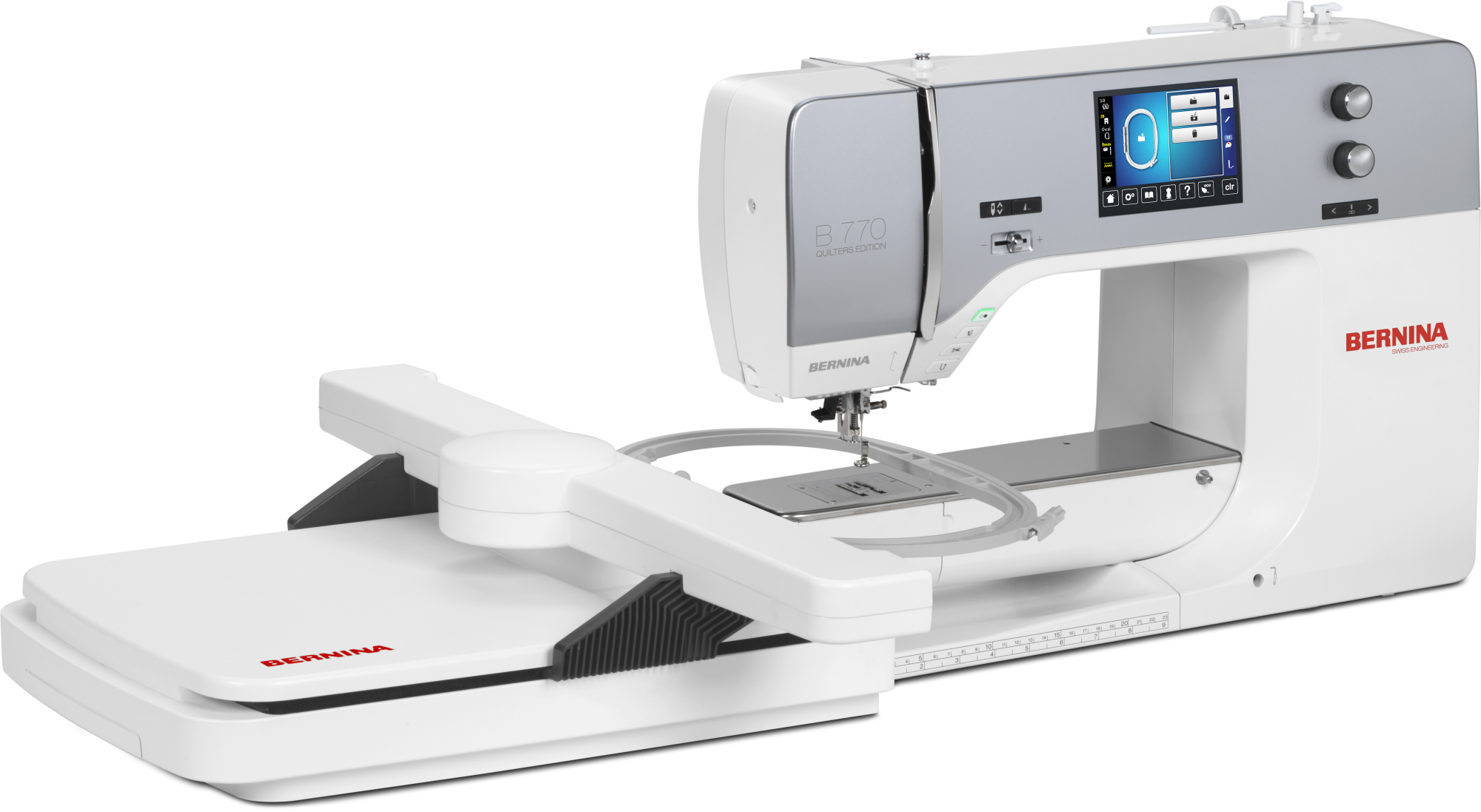 Bernina 770 QEE with embroidery module