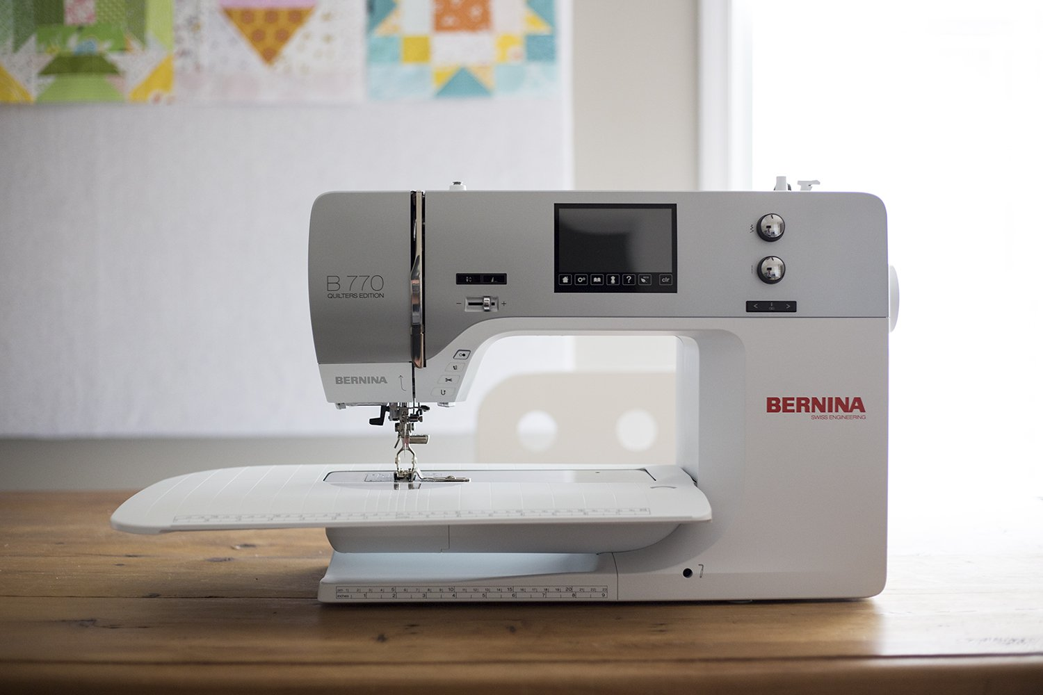 Bernina 770 QE machine only