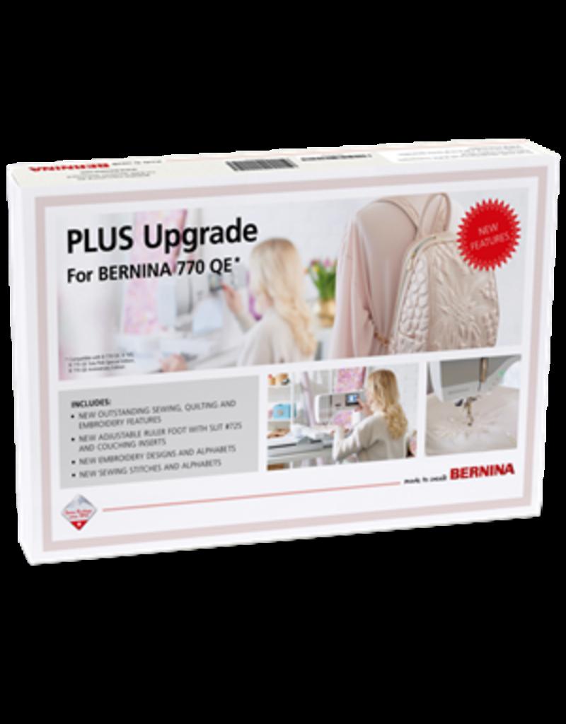 Bernina PLUS Upgrade for 770QE*