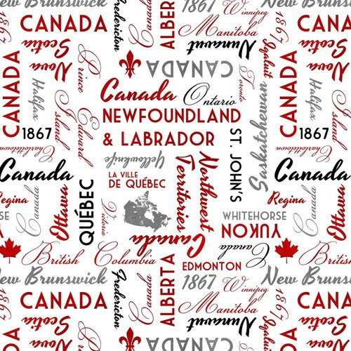 Canadianisms White with Tossed Words