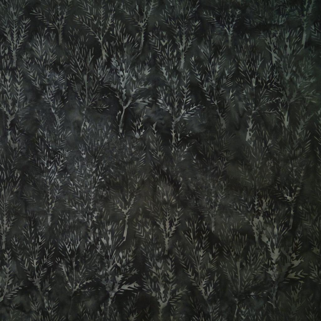 Charcoal Branch Batik