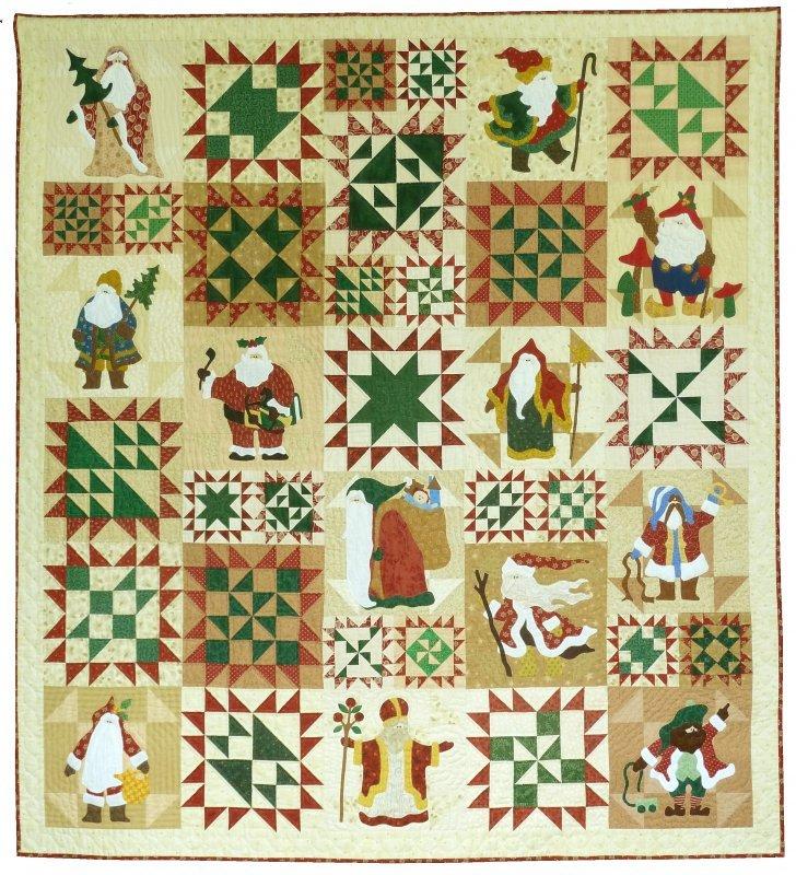 Classic Santa's 12 pattern set