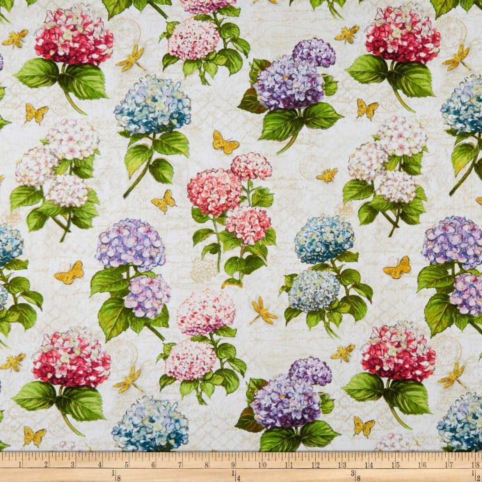 Hydrangea Dreams Cram Background