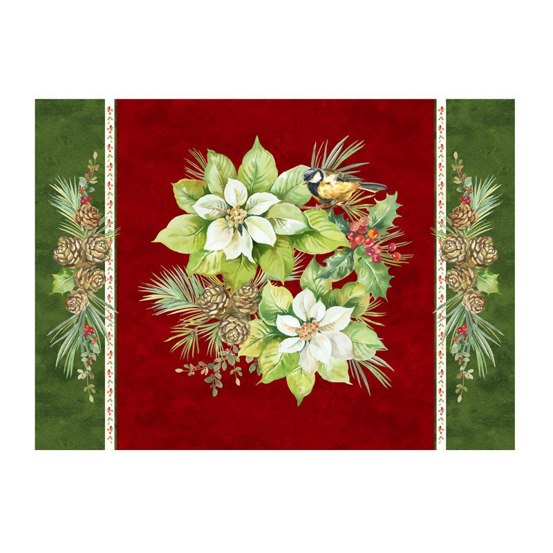 Deck the Halls Placemat Kit  Set of 4