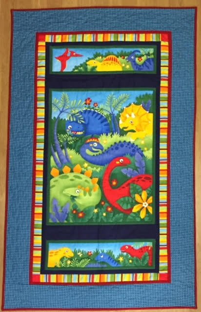 Dino Club Quilt Kit