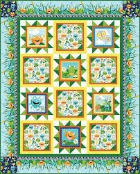 Toad-ally Terrific Quilt Kit