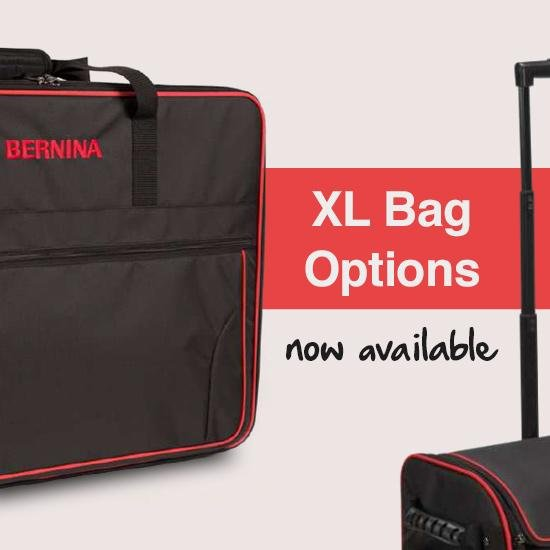 Bernina XL Embroidery module suitcase