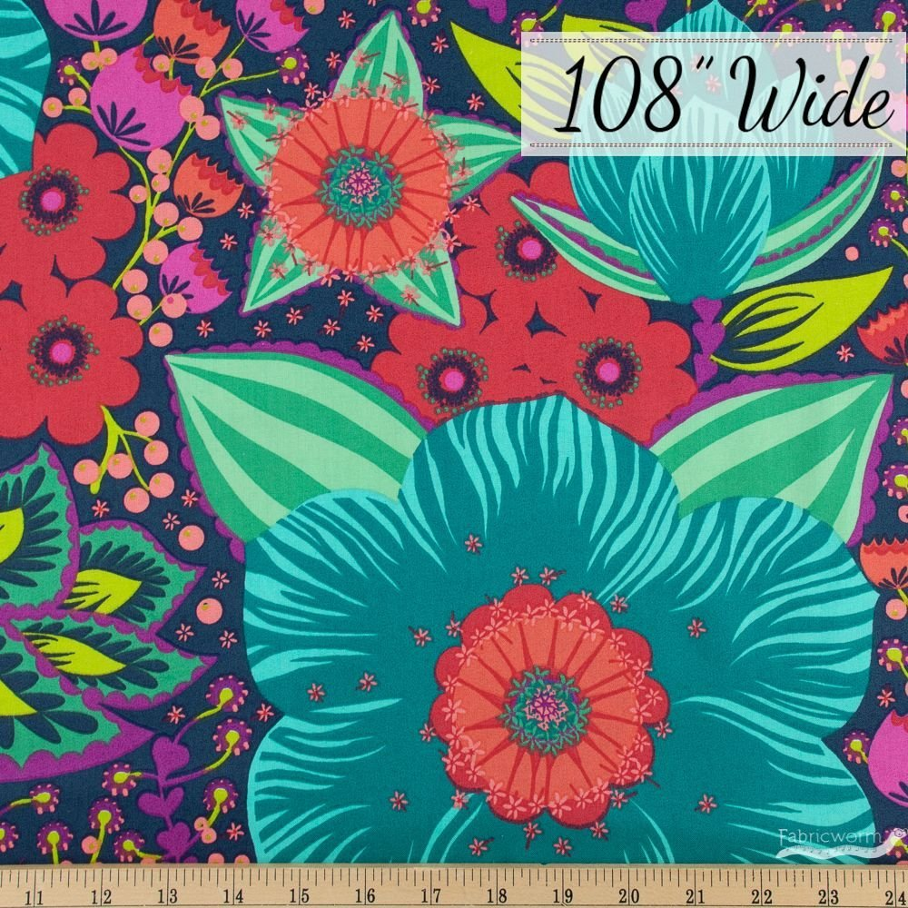 Large Floral 108in