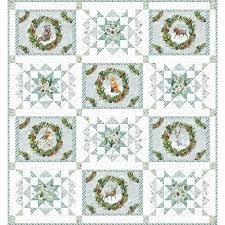 Friendly Gathering Throw Quilt Kit