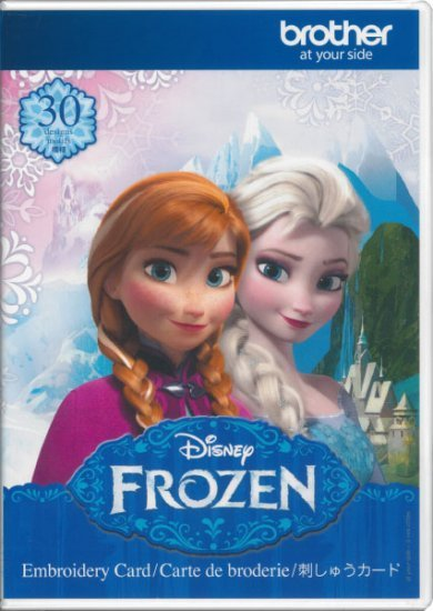 Brother Disney Frozen embroidery