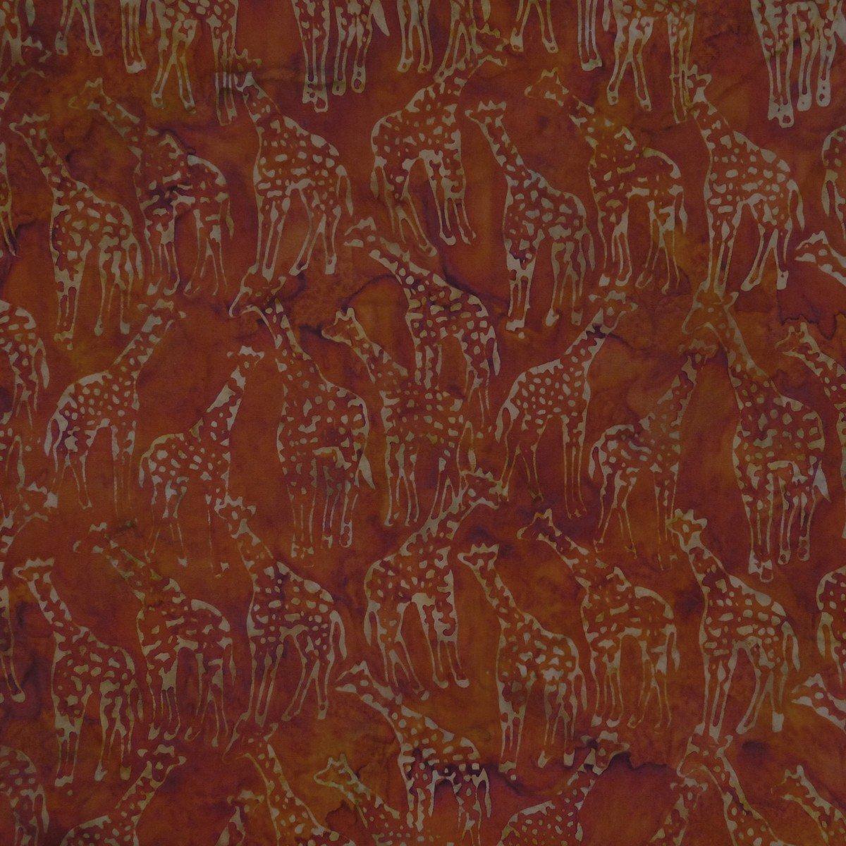 Cappuccino Giraffe Batik