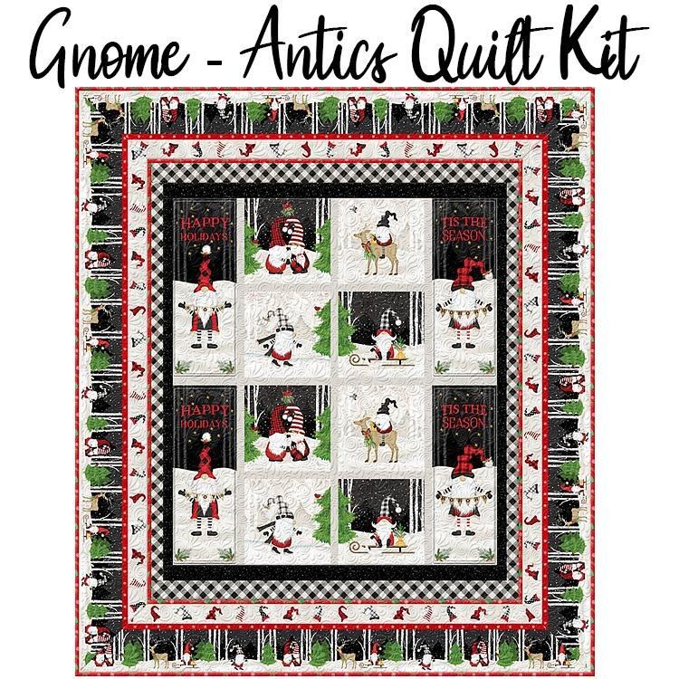 Gnome-antics Quilt Kit