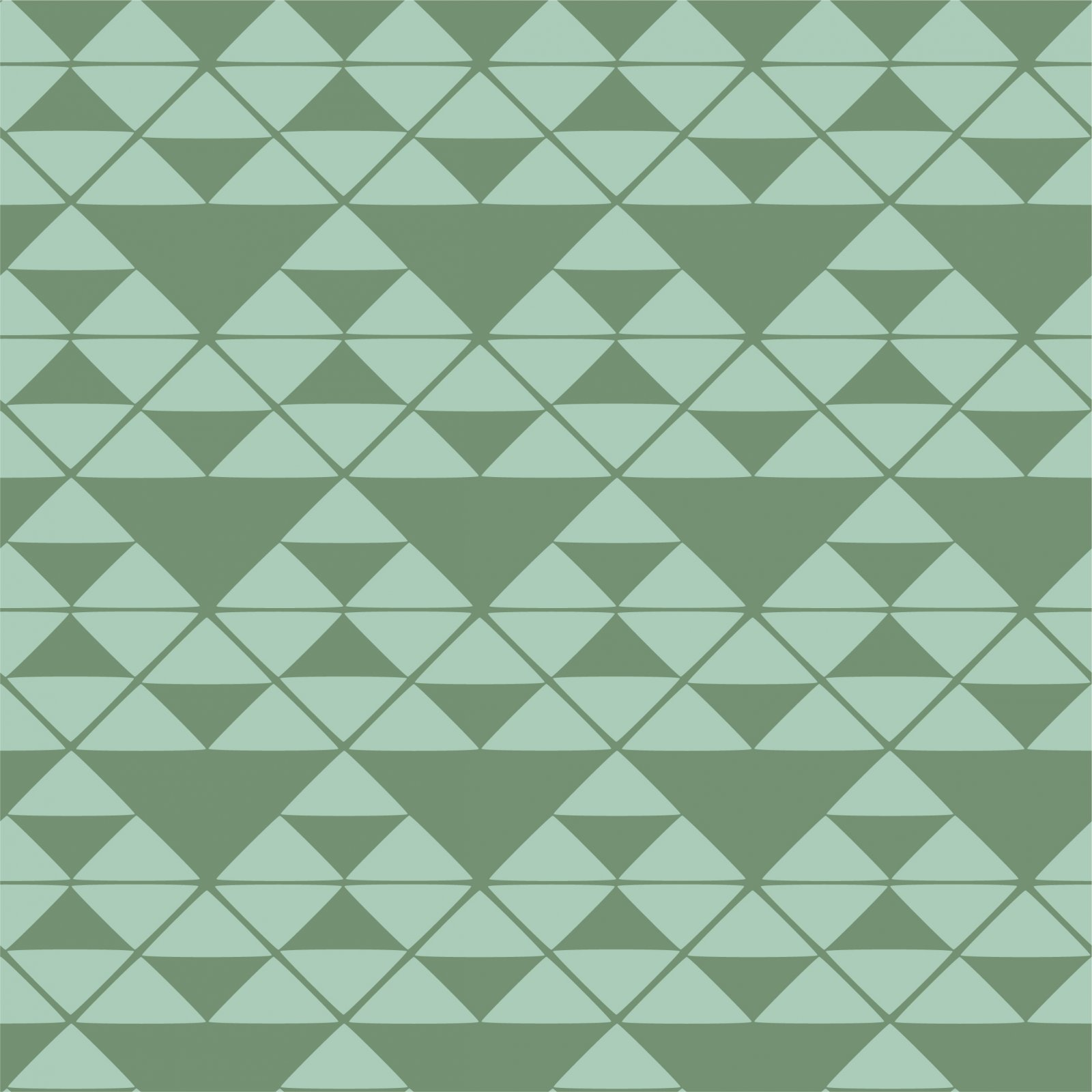 True North Green Print