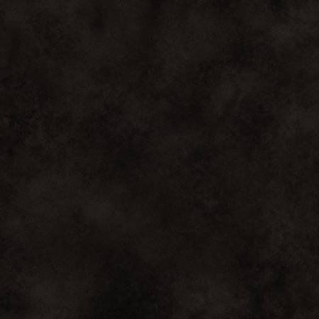 Folk Art Flannel Hand Dyed Black