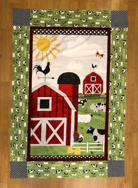 Country Life Baby Quilt Kit