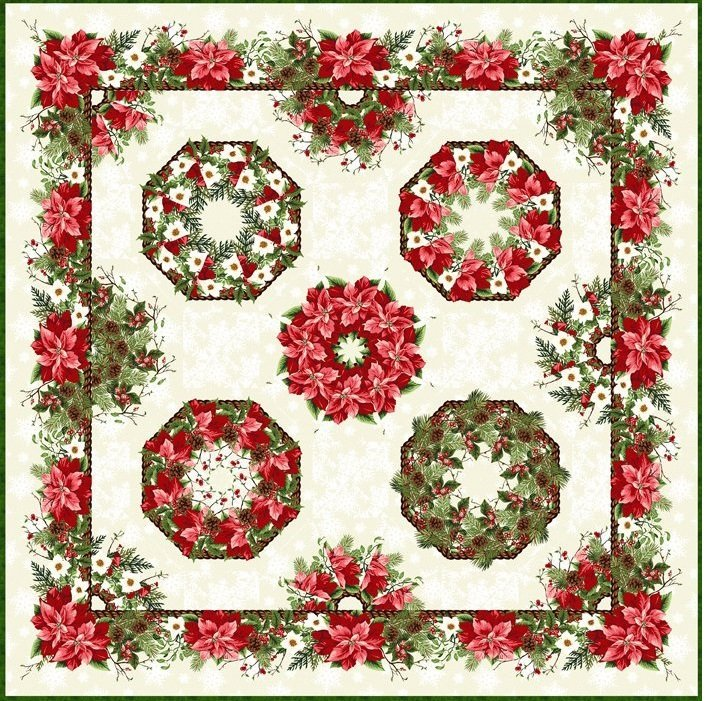 One-Fabric Kaleidoscope by Jason Yenter