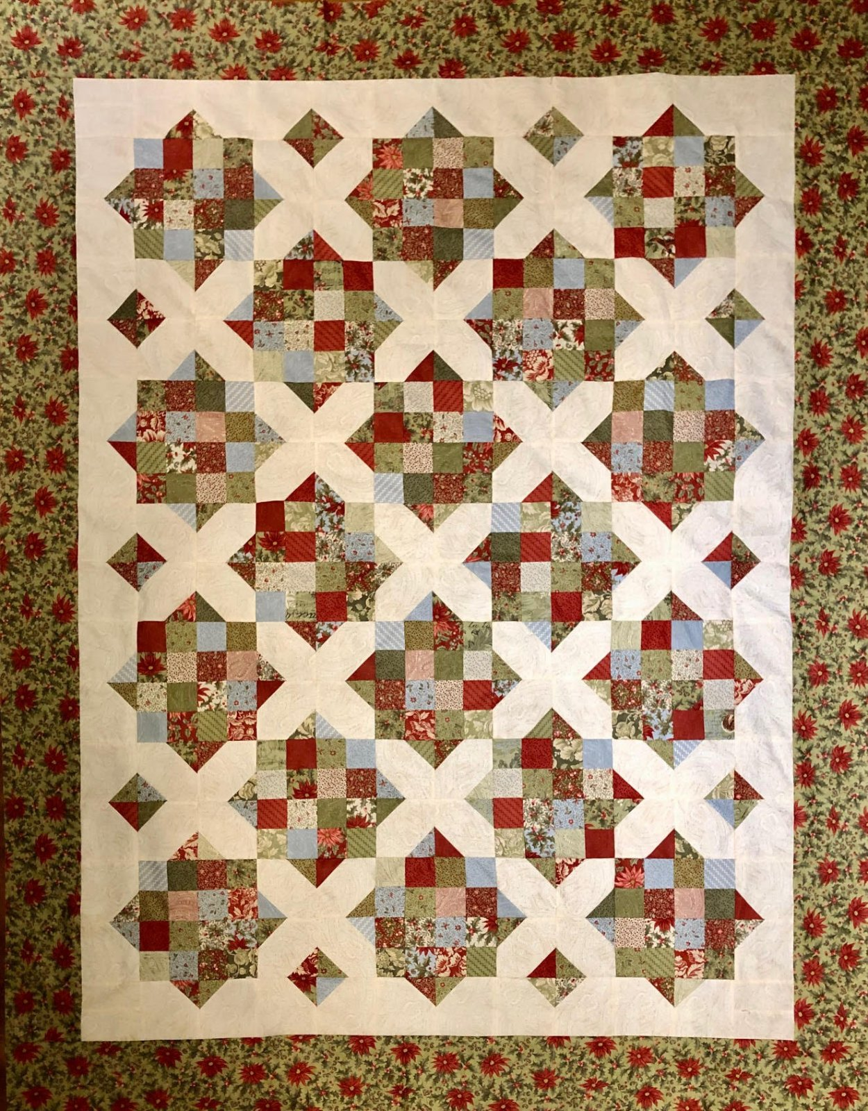 Marches De Noel Quilt Kit