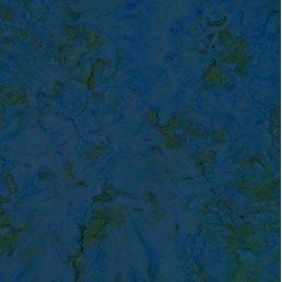 Morning Scent Medium Blue/Green Batik