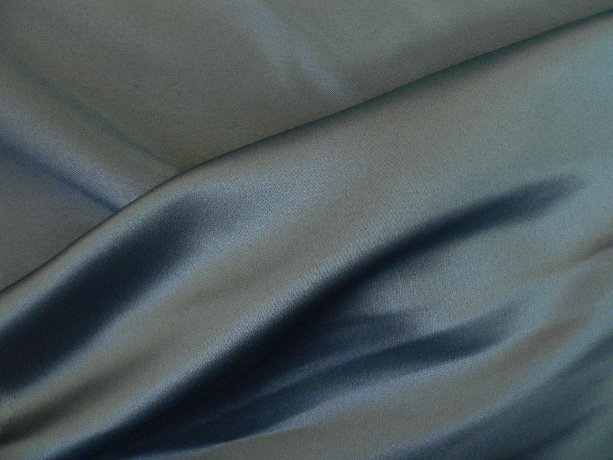 Duchesse Bridal satin, charcoal grey