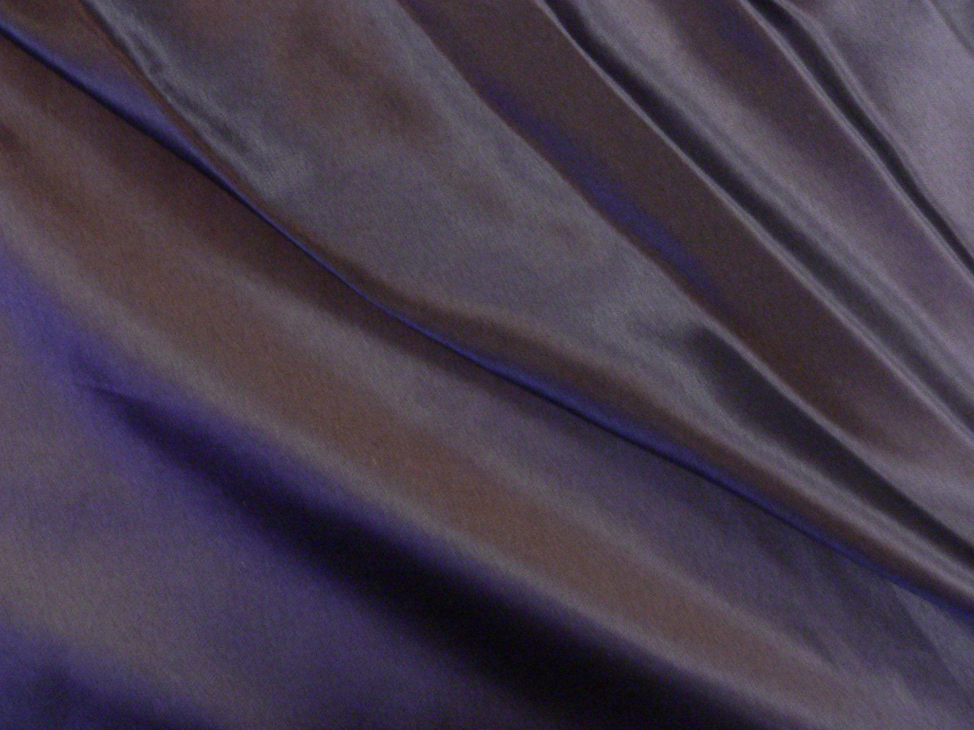 100% silk charmeuse, dark eggplant