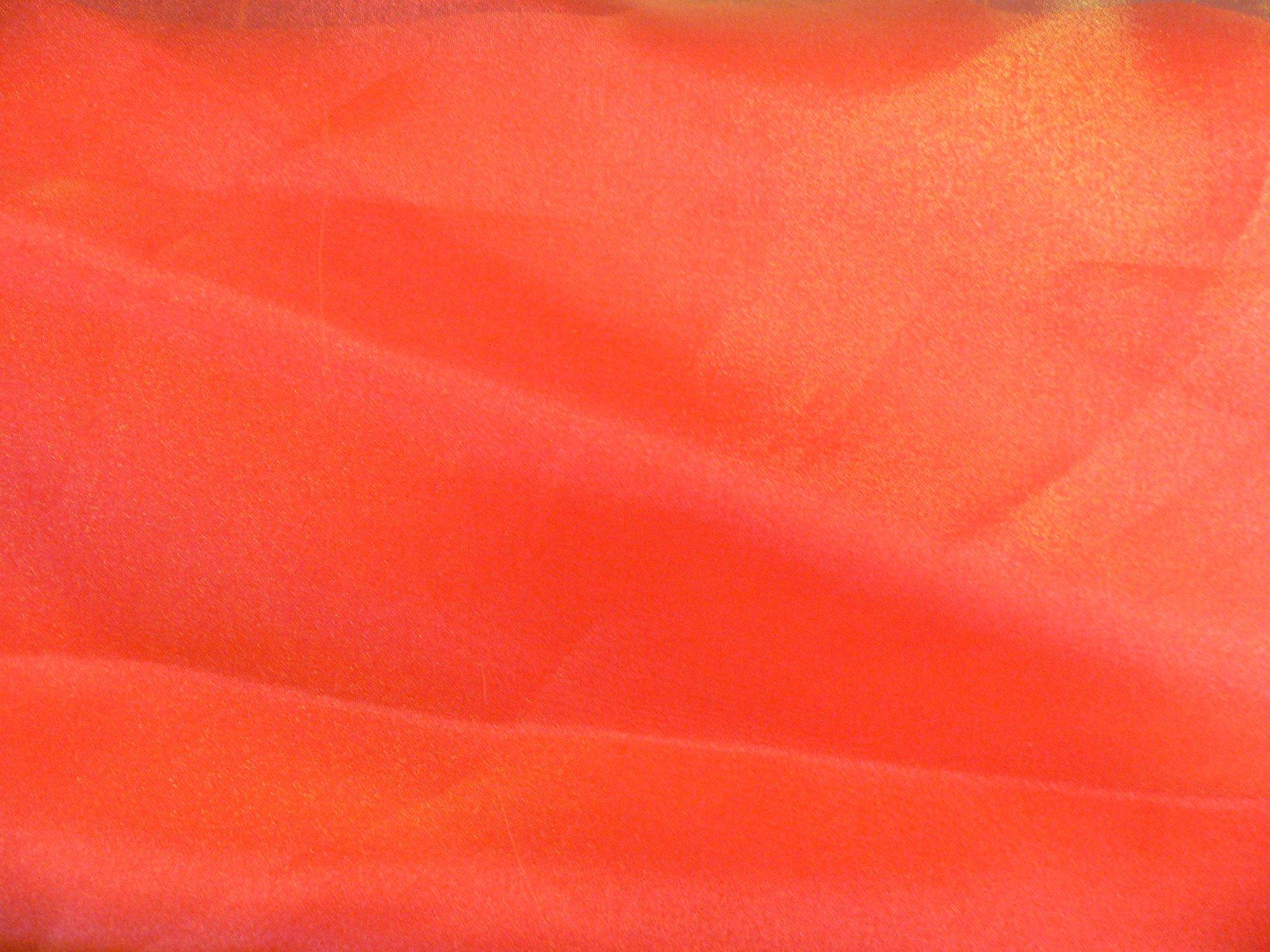 Organza, iridesent orange