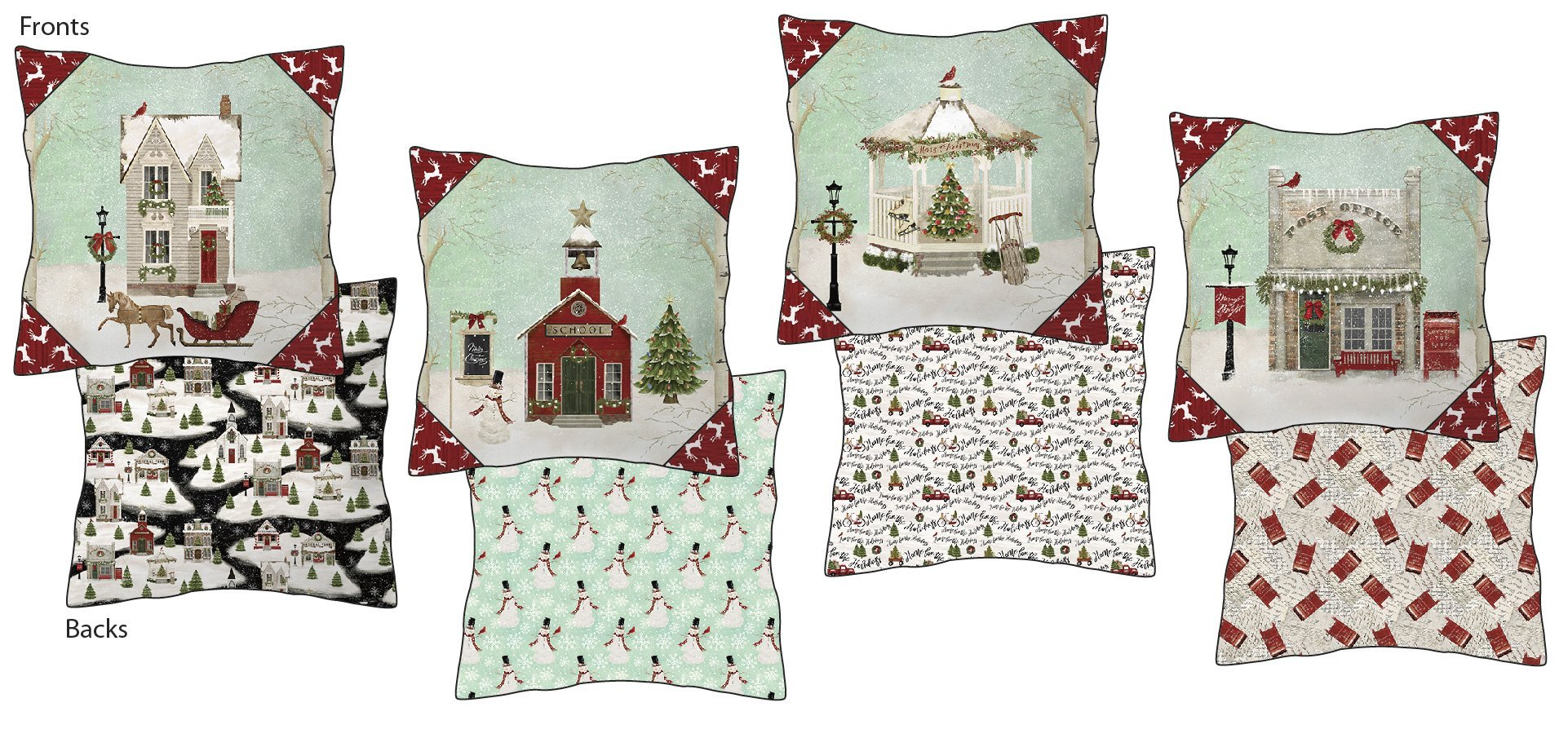 Home For the Holiday Pillow Kit