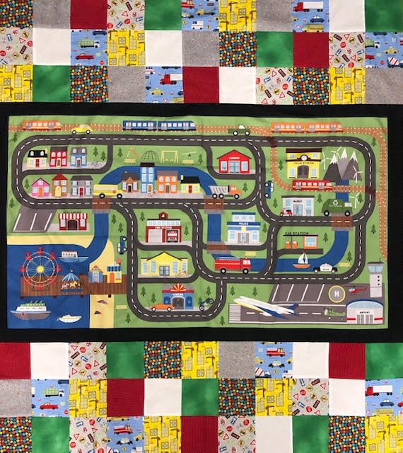 Play Time Panel Quilt Kit