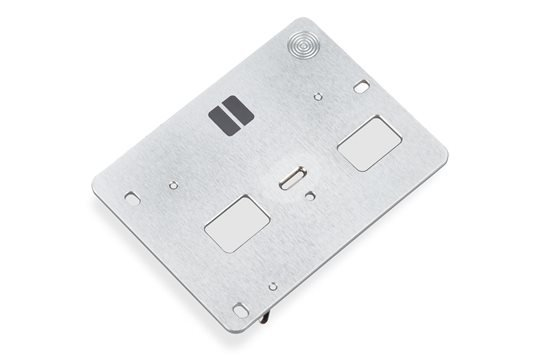 Bernina Q Series Twin Needle Stitch Plate