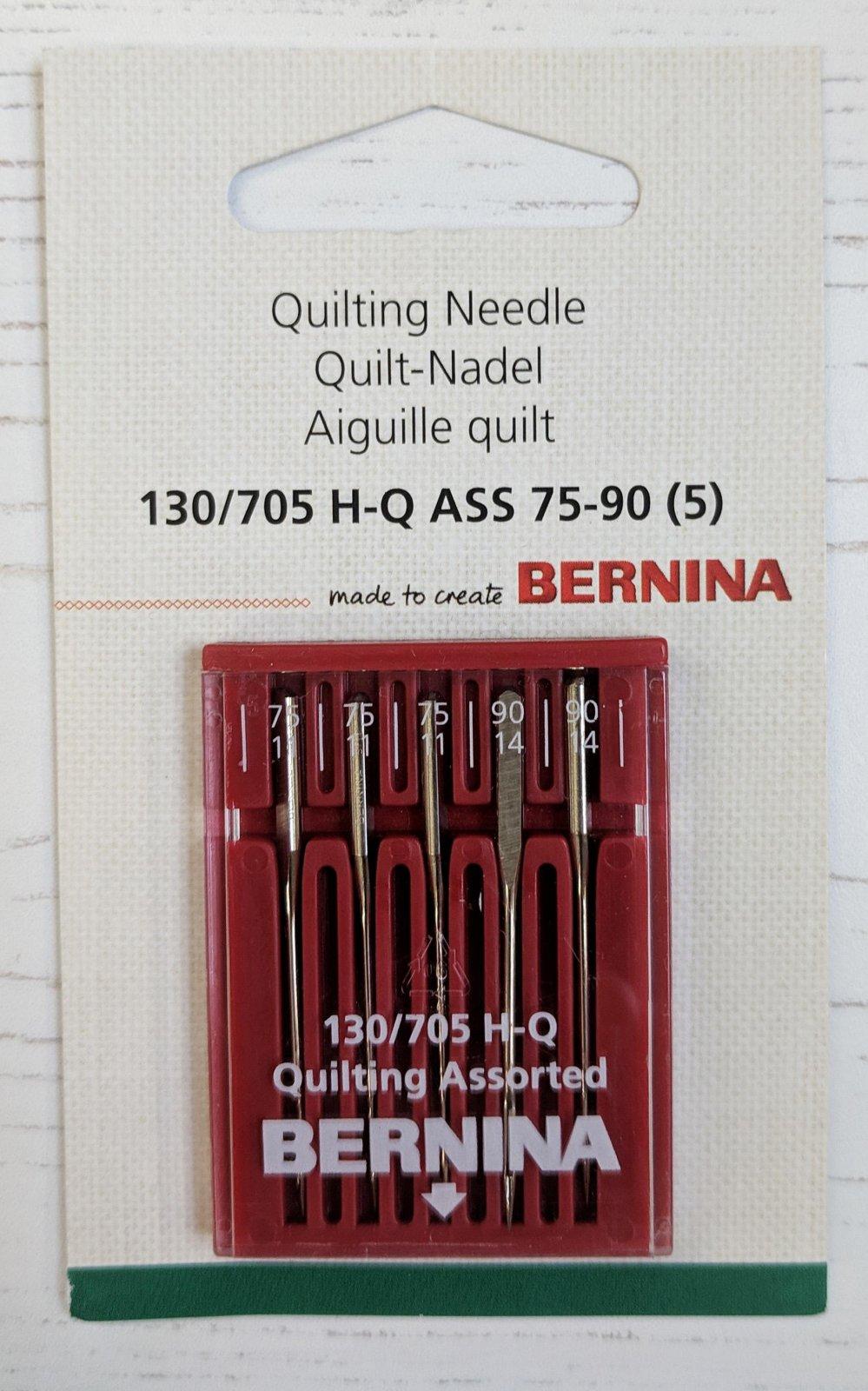 Bernina Quilting Needle 130/705 H Assorted 70/90