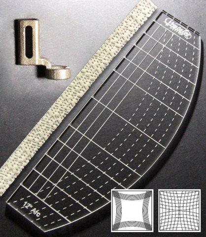 Westalee Ruler Foot + Arc Template + Tape, space gauge, low shank