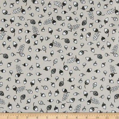 Wolly Bear Sand Acorn Print