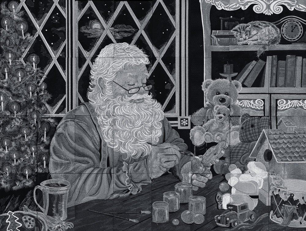 Santa's Workshop Tiling Scene, CD, multi format