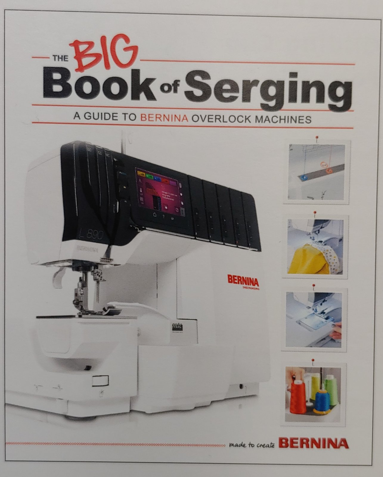 Bernina Big Book of Serging