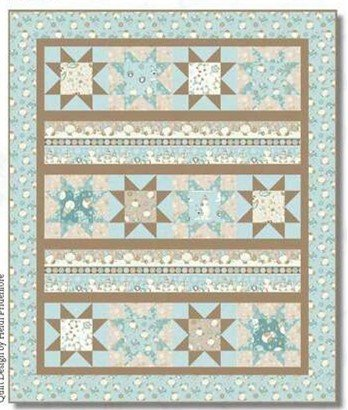 I Love Sn'Gnomies Flannel Quilt 2 (Border and Stars)