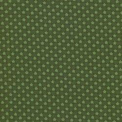 Thimbleberries green diagonal check