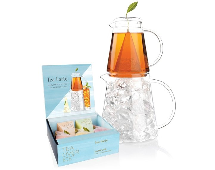 Tea over ice iced tea pitcher set