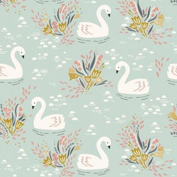 Dovestone Teal Swan