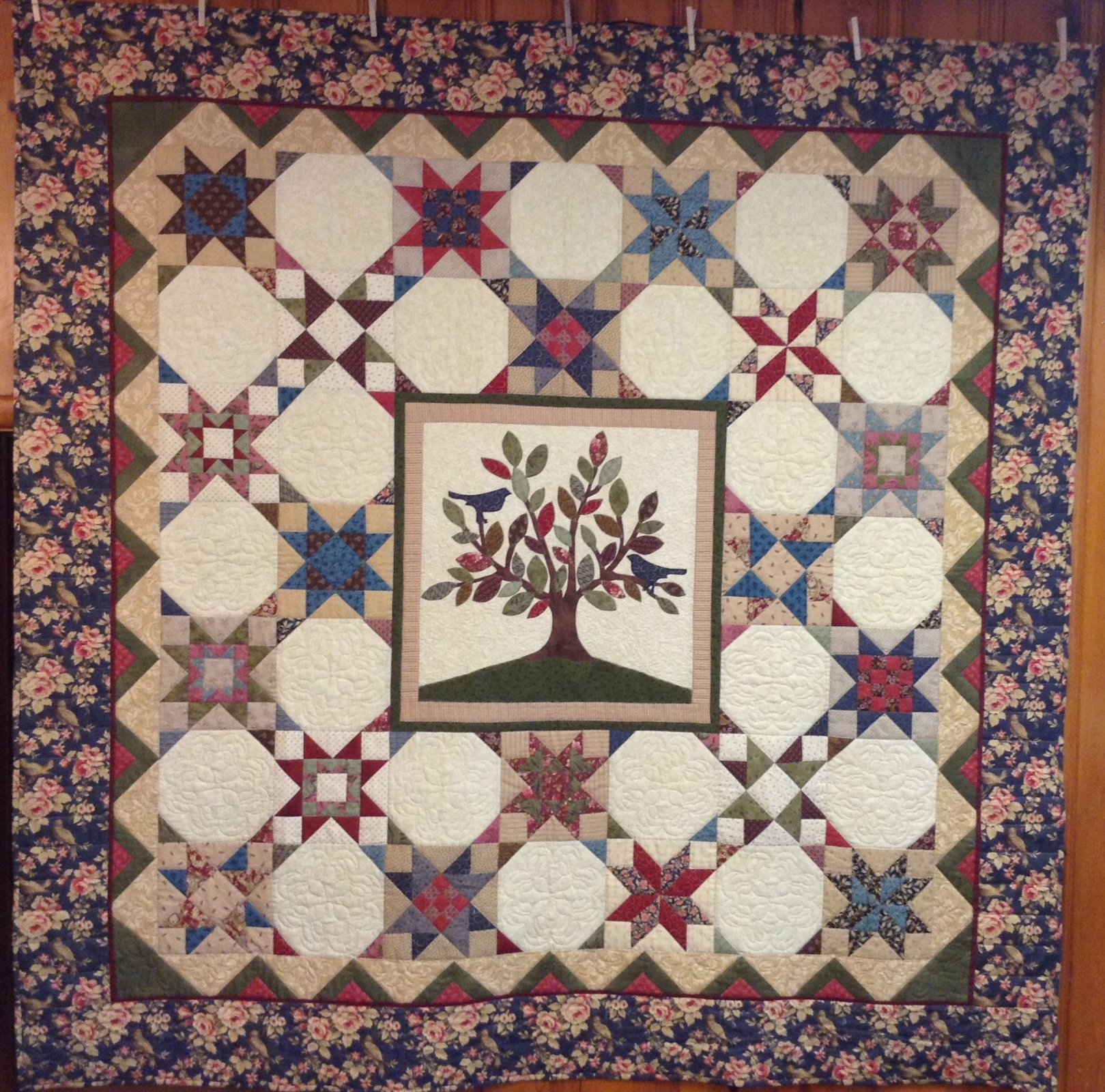Tree of Life complete Quilt kit