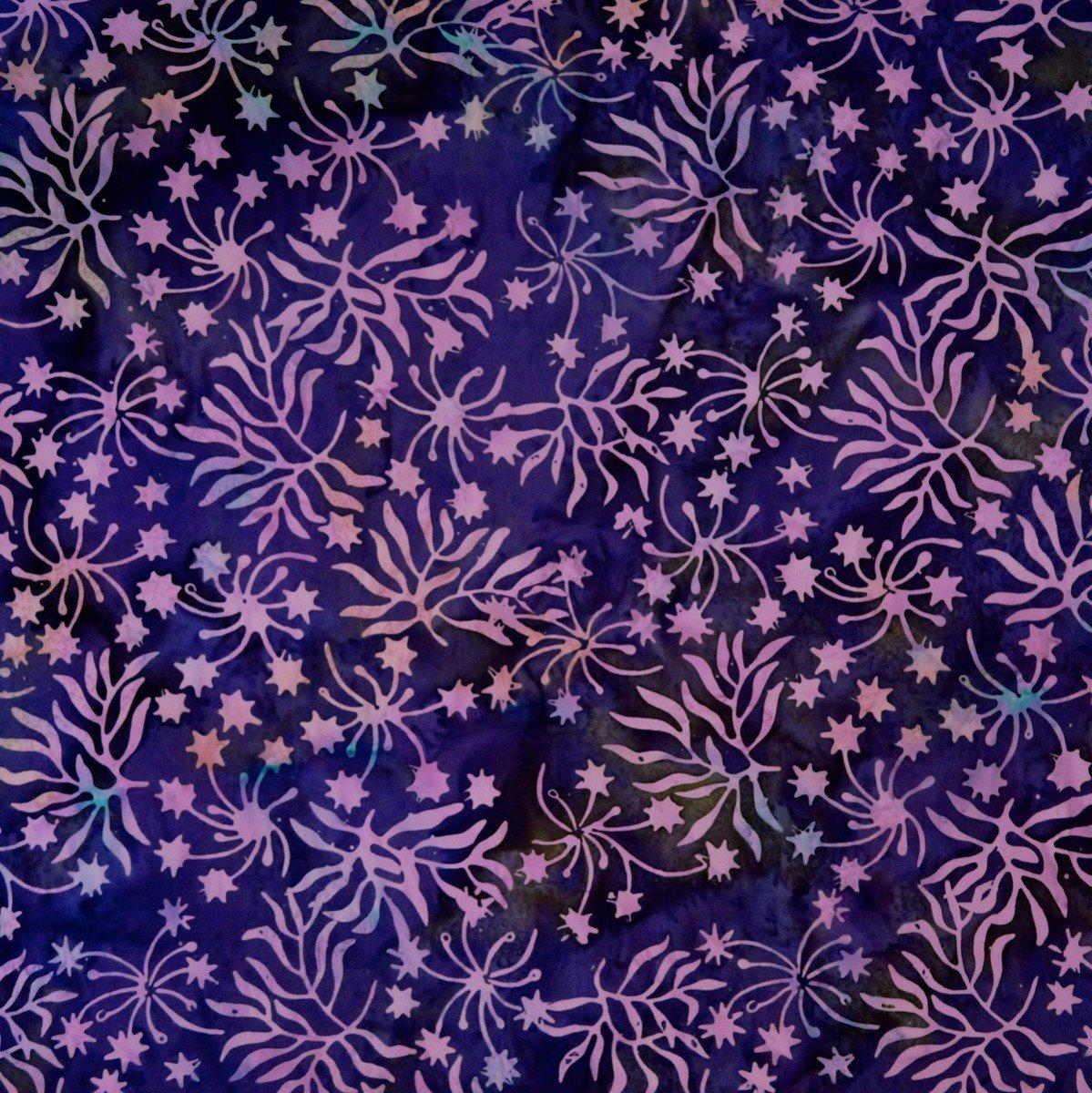 Purple Branch Batik