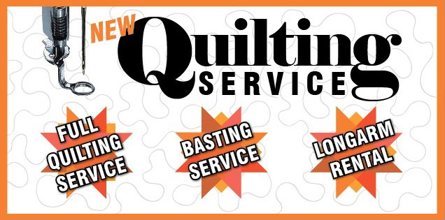 In-Store Handi Quilter Rental Service